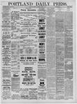 Portland Daily Press: March 01,1881
