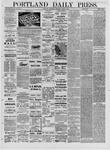 Portland Daily Press: March 02,1881