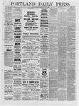 Portland Daily Press: March 03,1881