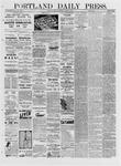 Portland Daily Press: March 04,1881