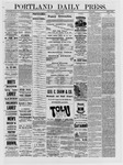 Portland Daily Press: March 08,1881