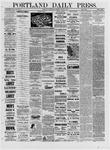 Portland Daily Press: March 09,1881