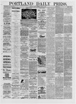 Portland Daily Press: March 11,1881