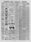 Portland Daily Press: March 12,1881