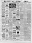 Portland Daily Press: March 14,1881