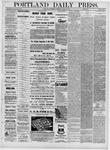 Portland Daily Press: March 16,1881
