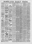 Portland Daily Press: March 19,1881