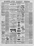 Portland Daily Press: March 22,1881