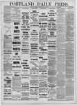 Portland Daily Press: March 24,1881