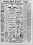 Portland Daily Press: March 25,1881