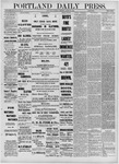Portland Daily Press: March 26,1881