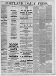 Portland Daily Press: March 31,1881