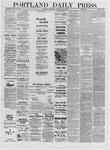 Portland Daily Press: April 06,1881