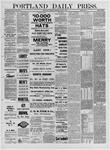 Portland Daily Press: April 07,1881