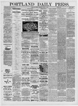 Portland Daily Press: April 11,1881