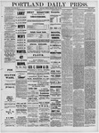 Portland Daily Press: April 12,1881