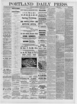 Portland Daily Press: April 13,1881