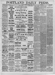 Portland Daily Press: April 14,1881