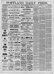Portland Daily Press: April 16,1881