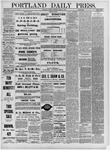 Portland Daily Press: April 19,1881
