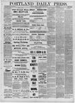 Portland Daily Press: April 21,1881