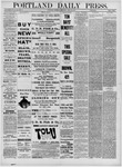 Portland Daily Press: April 28,1881