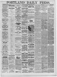 Portland Daily Press: April 29,1881
