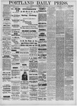 Portland Daily Press: April 30,1881