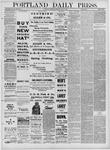 Portland Daily Press: May 05,1881