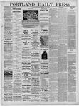 Portland Daily Press: May 11,1881