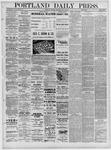 Portland Daily Press: May 16,1881