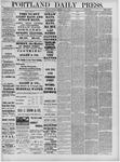 Portland Daily Press: May 17,1881