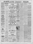 Portland Daily Press: May 18,1881