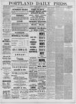 Portland Daily Press: May 19,1881