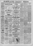 Portland Daily Press: May 20,1881