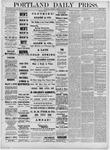 Portland Daily Press: May 21,1881