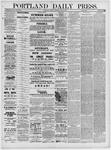 Portland Daily Press: May 23,1881