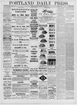 Portland Daily Press: May 26,1881
