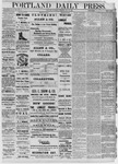 Portland Daily Press: May 28,1881