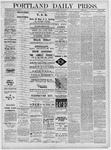 Portland Daily Press: May 30,1881