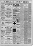 Portland Daily Press: June 01,1881