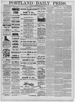 Portland Daily Press: June 04,1881