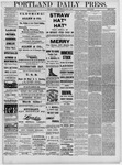 Portland Daily Press: June 07,1881