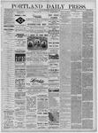 Portland Daily Press: June 08,1881