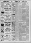 Portland Daily Press: June 10,1881