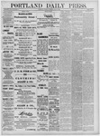 Portland Daily Press: June 11,1881