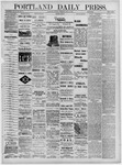 Portland Daily Press: June 13,1881
