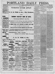 Portland Daily Press: June 14,1881