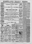 Portland Daily Press: June 15,1881