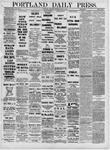 Portland Daily Press: June 16,1881